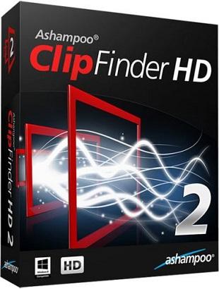 Ashampoo ClipFinder HD 2.49 poster box cover