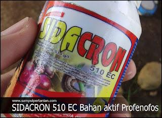 Insektisida SIDACRON 510 EC Bahan aktif Profenofos