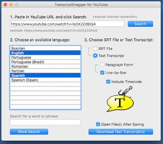 تحميل TRANSCRIPTSNAGGER مجاني للبحث ضمن الكمبيوتر Windows وMac