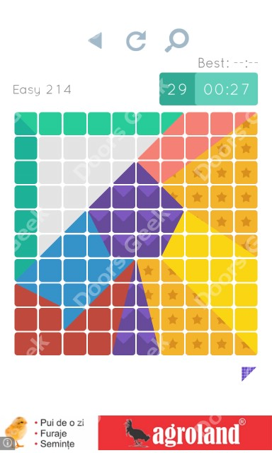 Cheats, Walkthrough for Blocks and Shapes Level 214