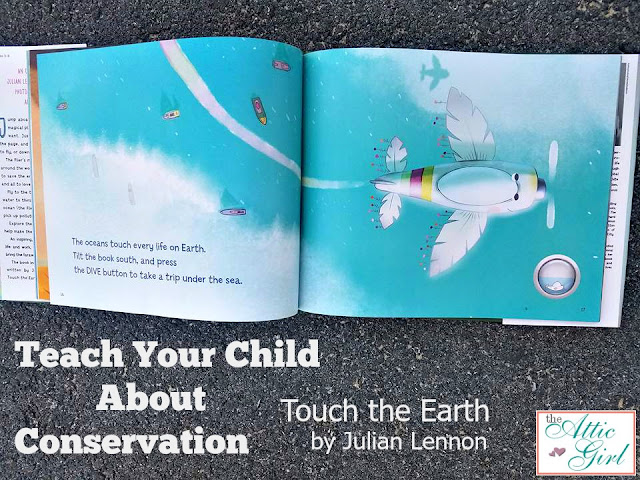 Julian Lennon, Conservation, Water Resources, Earth Day, Children's Picture Books