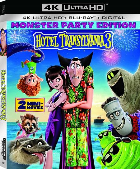 Hotel Transylvania 3: Summer Vacation 4K (Hotel Transylvania 3: Monstruos de Vacaciones 4K) (2018) 2160p 4K HDR BluRay REMUX 40GB mkv Dual Audio Dolby TrueHD ATMOS 7.1 ch