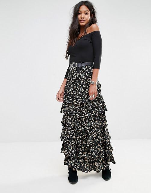 faldas largas para señoras
