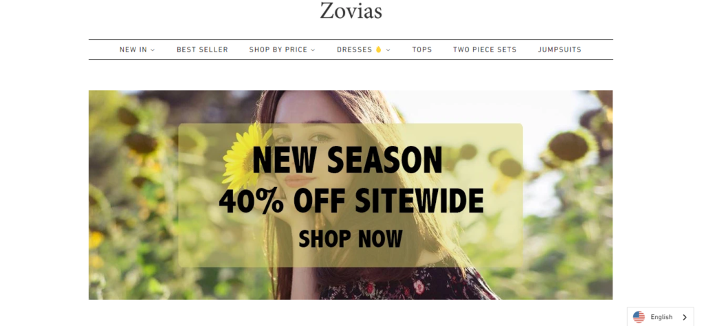 Zovias Clothing.com Reviews-Is Zovias Scam or Legit?