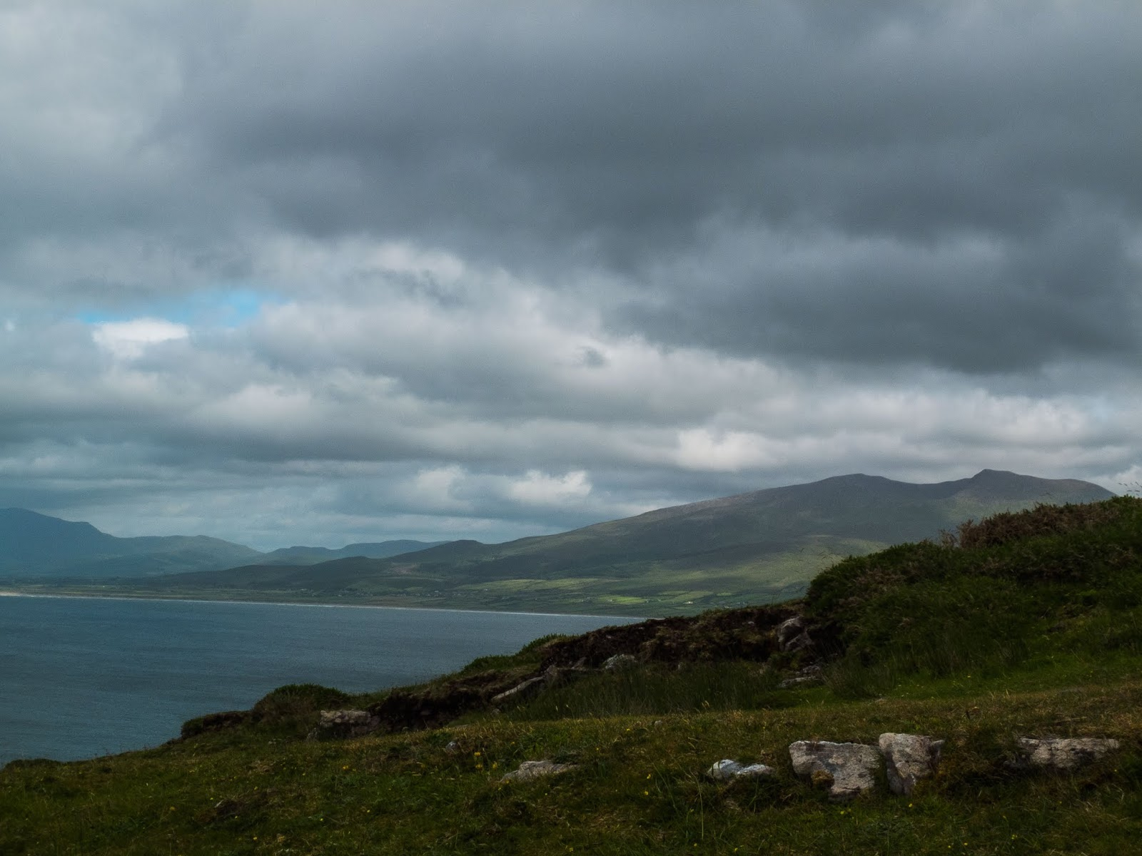 Mountain views from Brandon Point County Kerry.