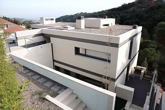 bentuk desain atap minimalis