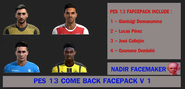 PES 13 NEW SEASON BY NADIR BEKKAR
