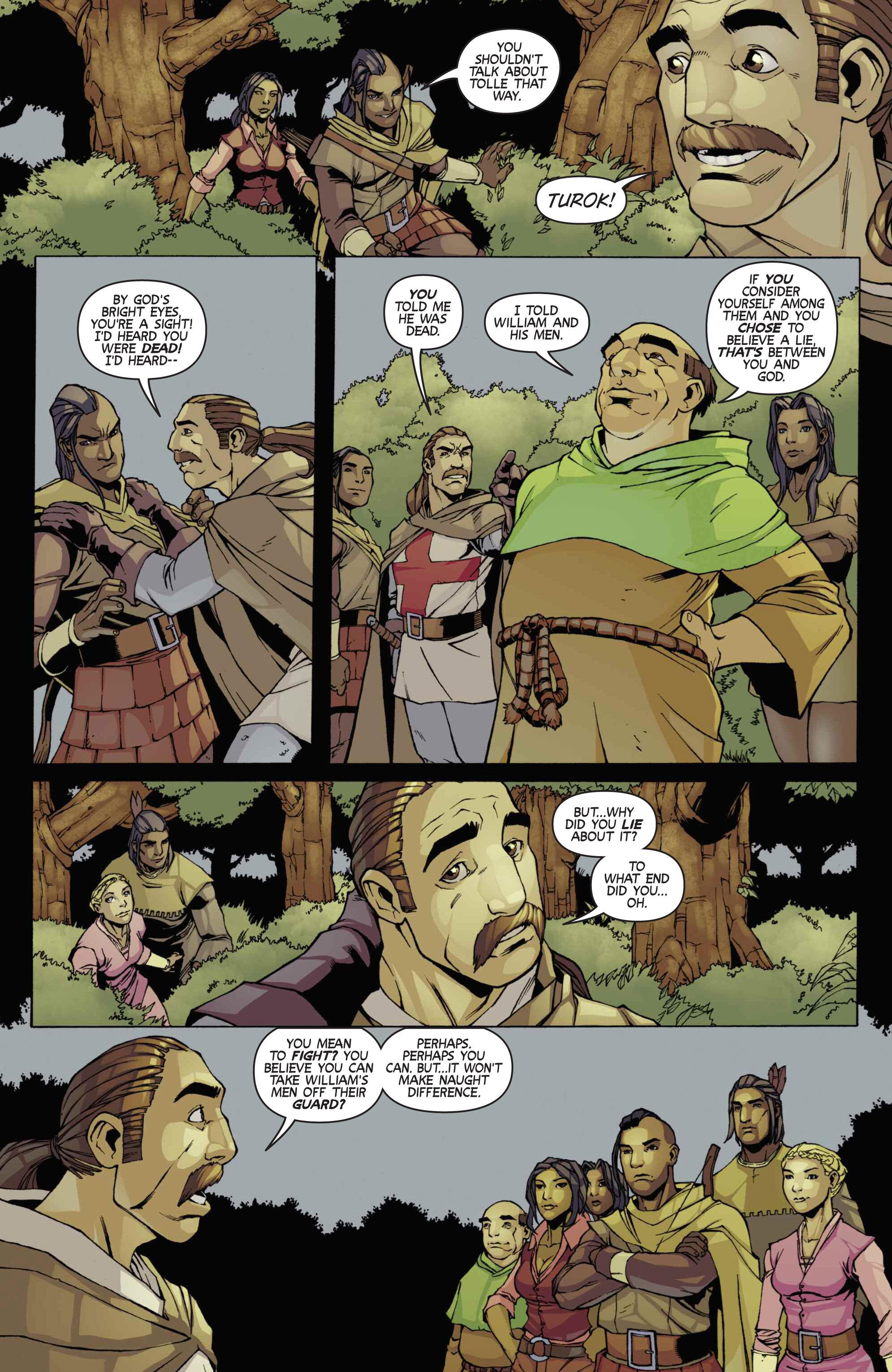 Read online Turok: Dinosaur Hunter (2014) comic -  Issue # _TPB 3 - 79