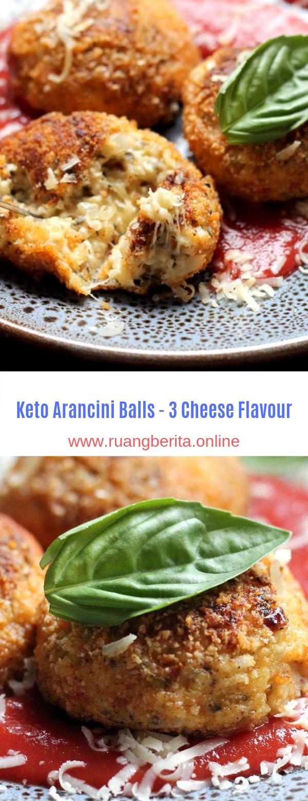 Keto Arancini Balls - 3 Cheese Flavour