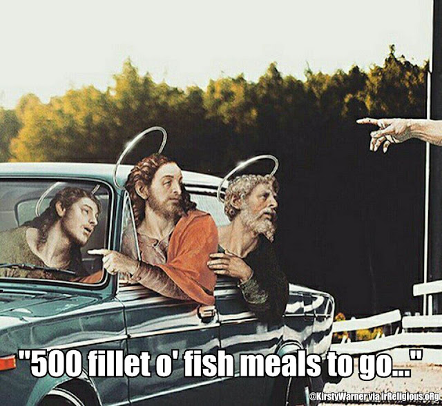 KirstyWarner - 500 fillet o fish meals to go