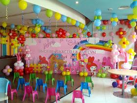 untuk menambah semarak ulang tahun anak biasanya menggunakan balon satuan