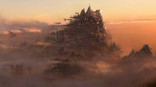 london traction city mortal engines concept art