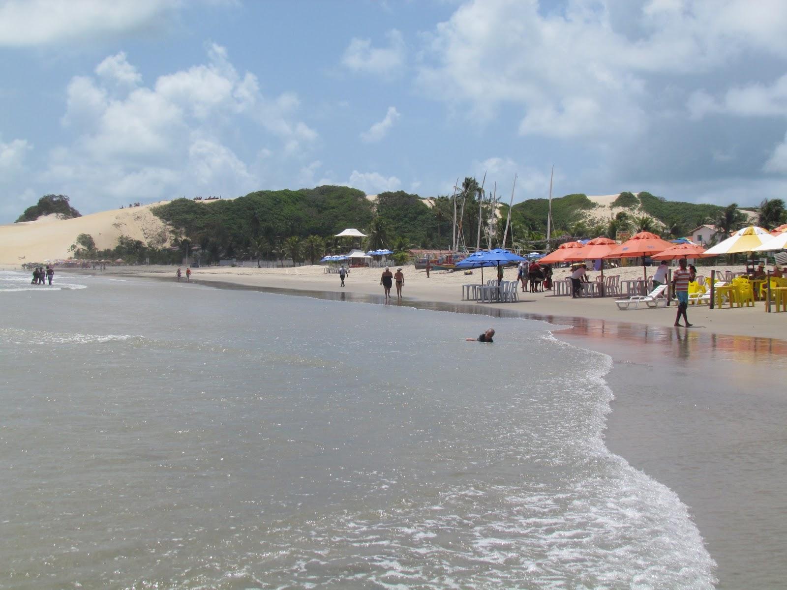 Barracas a beira mar de Genipabú-RN