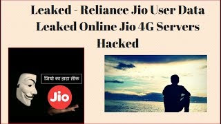 magicapk.com - Reliance Jio User Data Leaked Online   Biggest Data Hack 2017   Jio 4G Server Hacked