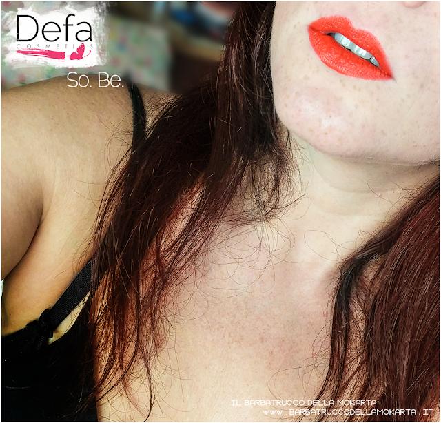 lips applicazione so. be defa cosmetics