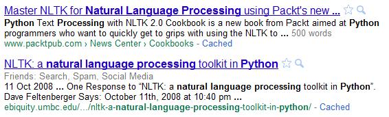 contados keywords google