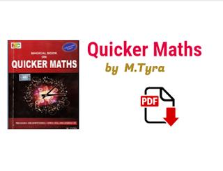 quicker maths book free pdf