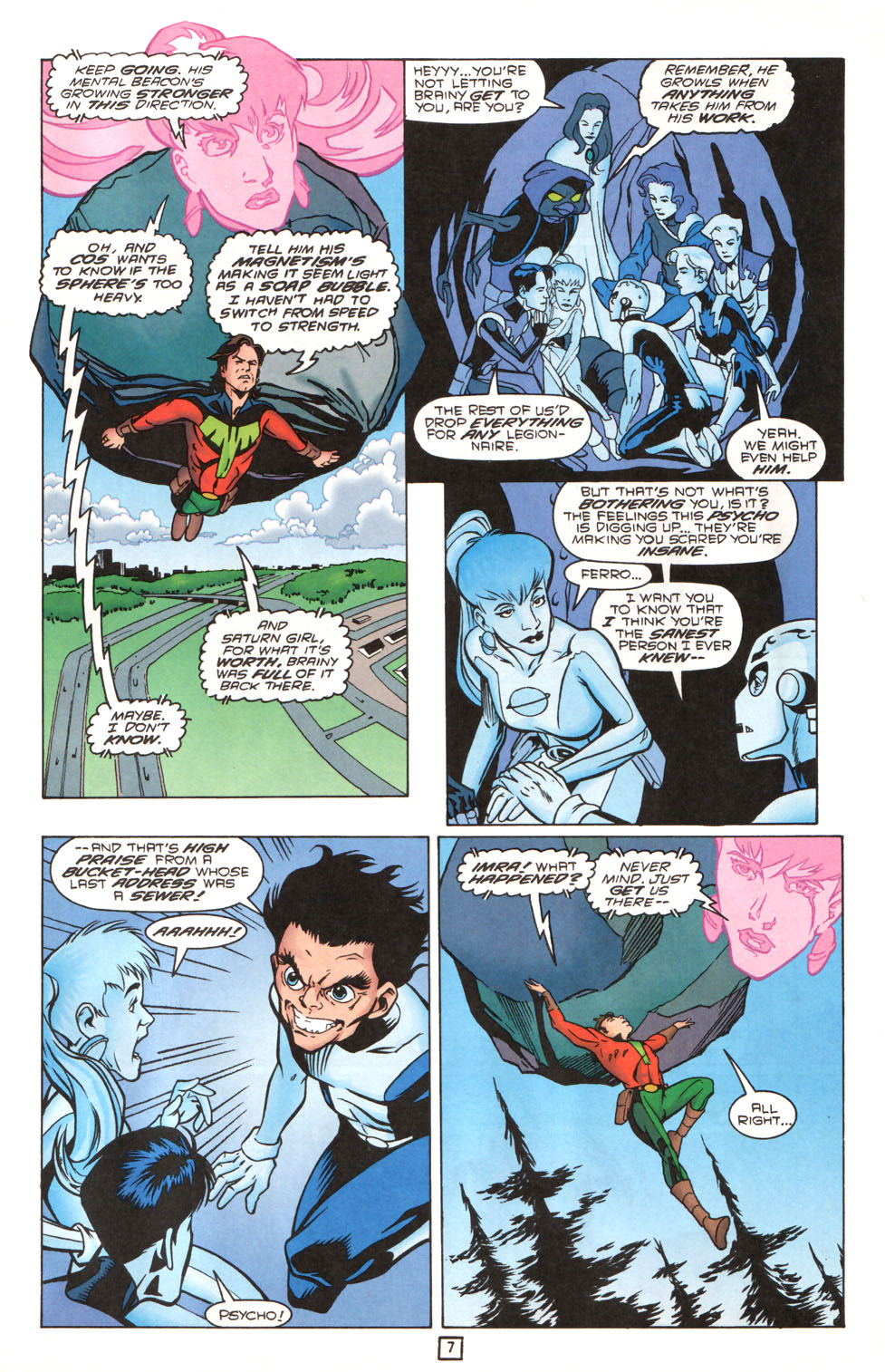 Legion of Super-Heroes (1989) 90 Page 7