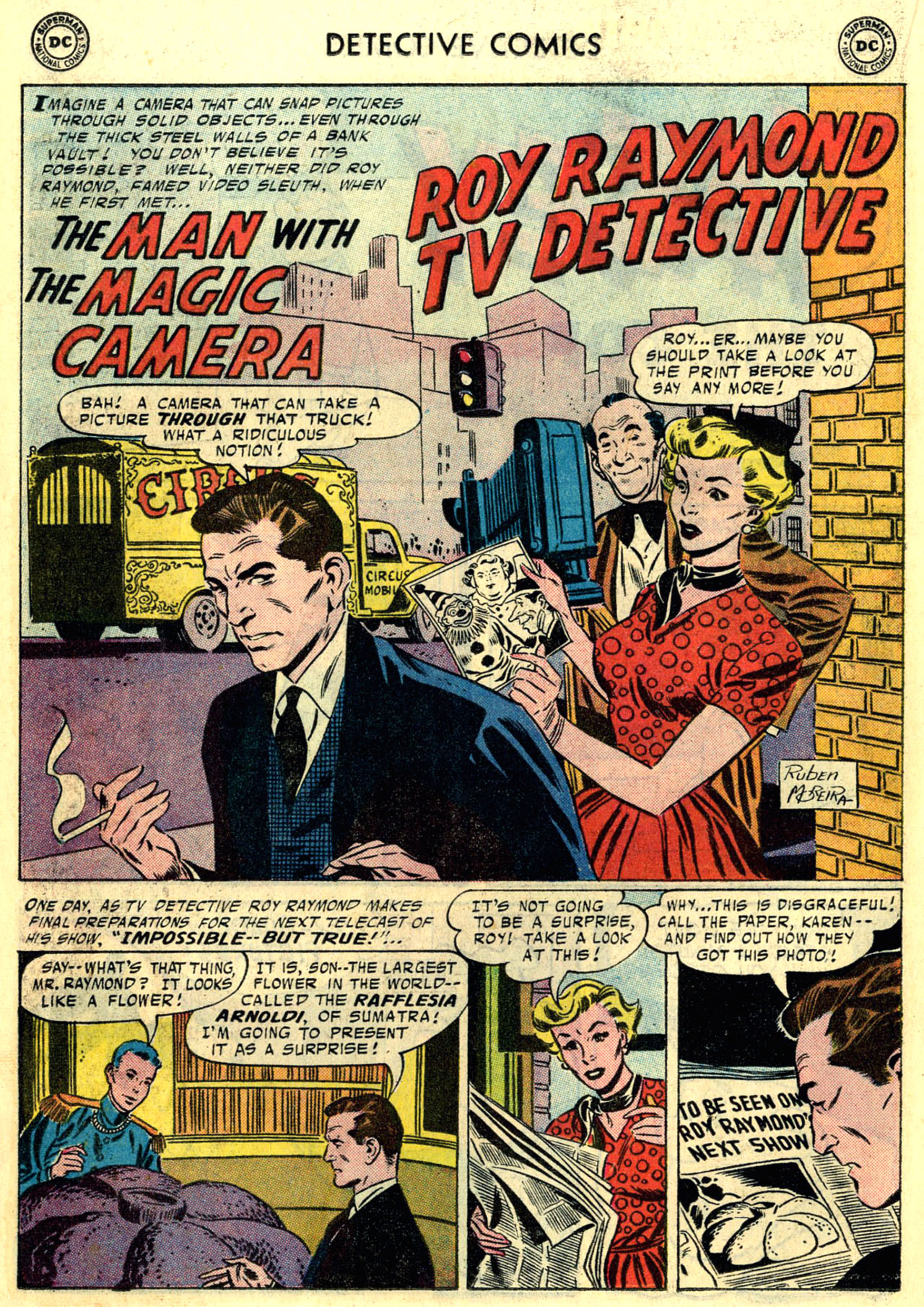 Read online Detective Comics (1937) comic -  Issue #246 - 18