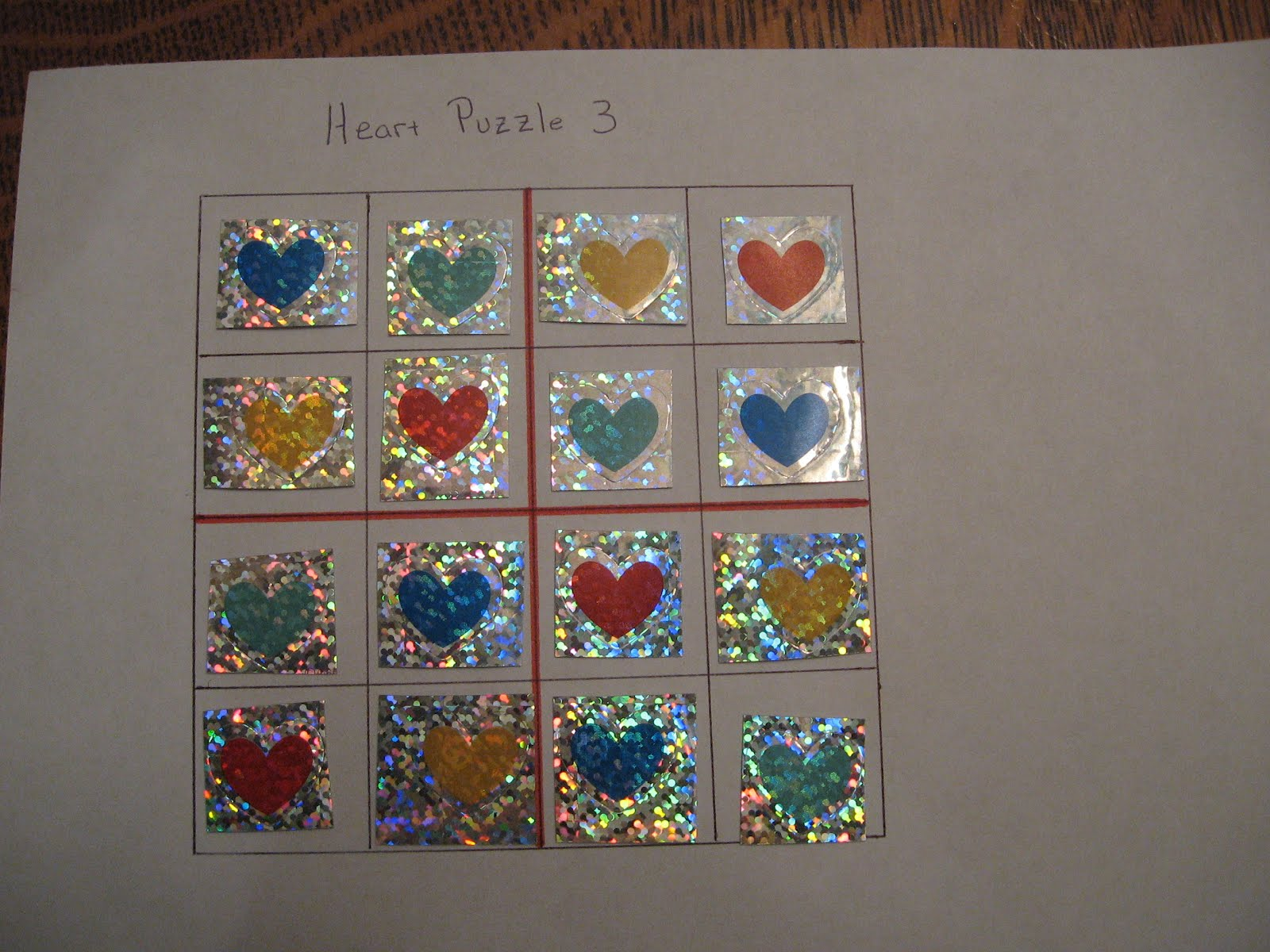 Almost Unschoolers Valentine Surprise Activity Box Day 6