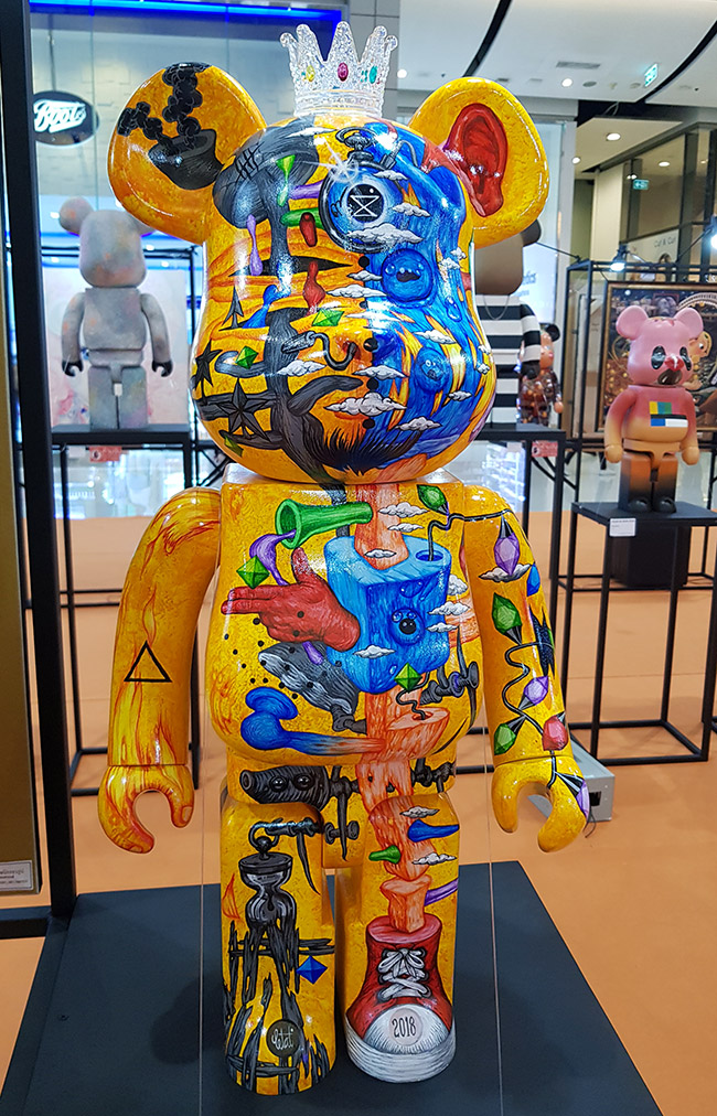 Tetat Tanachoktaweporn - Color Me Bear 2018 designer Be@rBrick toy