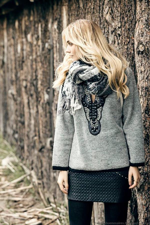 Sweater invierno 2016. Moda invierno 2016 ropa de mujer.