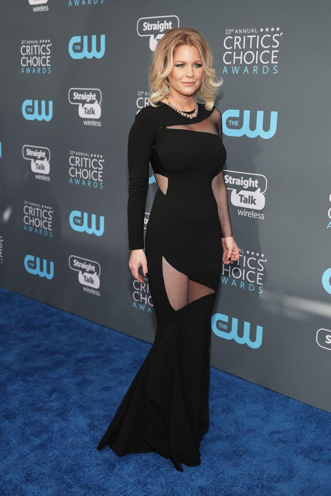 Carrie Keegan At 2018 critics Choice Awards In Santa Monica