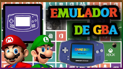 EMULADOR DE GBA - GAME BOY PARA PC + ROMS
