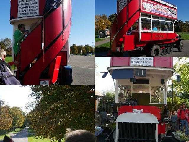 Beaulieu Motor Museum vintage bus