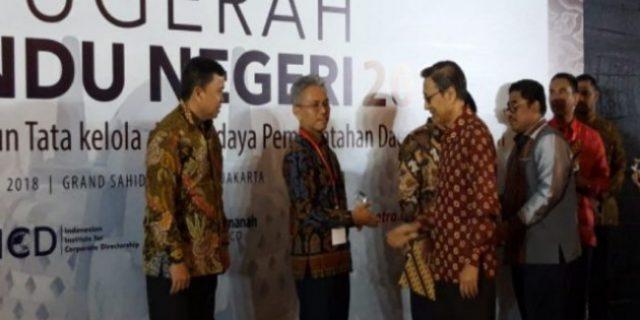 Prov Lampung Raih Perhargaan Kinerja dan Tata Kelola