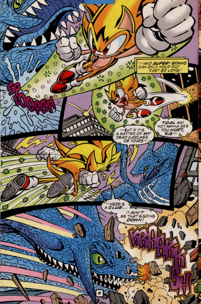 Read online Sonic The Hedgehog comic -  Issue #84 - 8