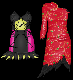 Stardoll Free Monster High Prom Dresses