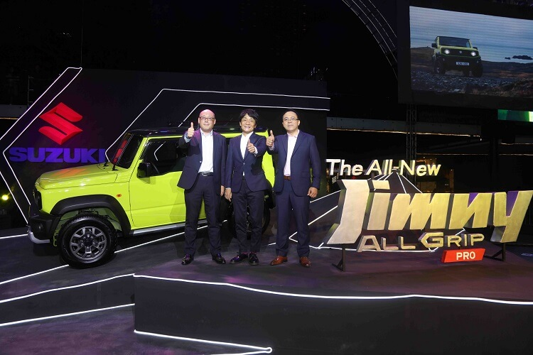 Suzuki Brings All-New Jimny All-Grip Pro to PH