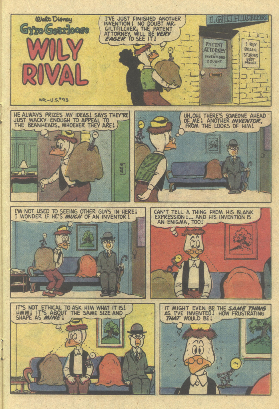 Read online Uncle Scrooge (1953) comic -  Issue #207 - 21
