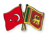 Turkey and Sri Lanka flags