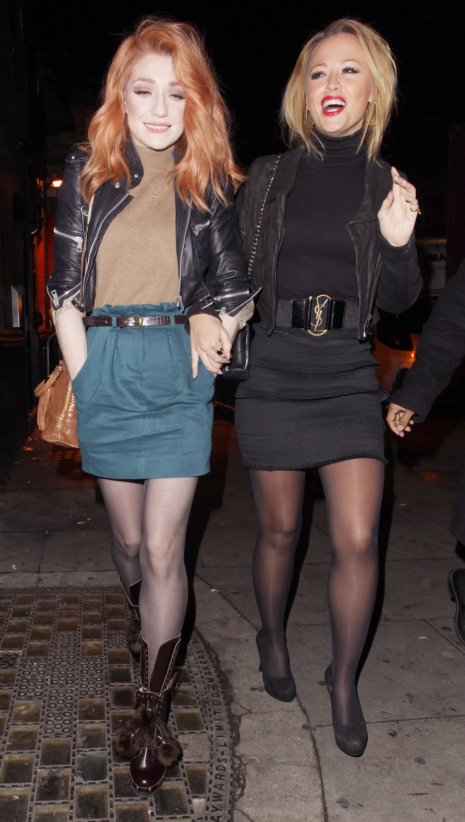 Pantyhose girls aloud