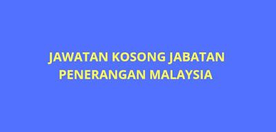Jawatan Kosong Jabatan Penerangan Malaysia 2019