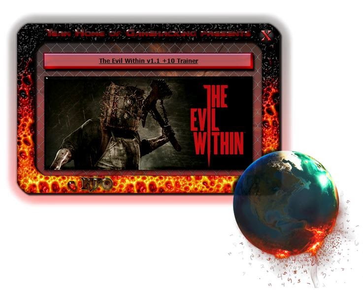 Pc Trainers By Mr Antifun The Evil Within V1 1 Trainer