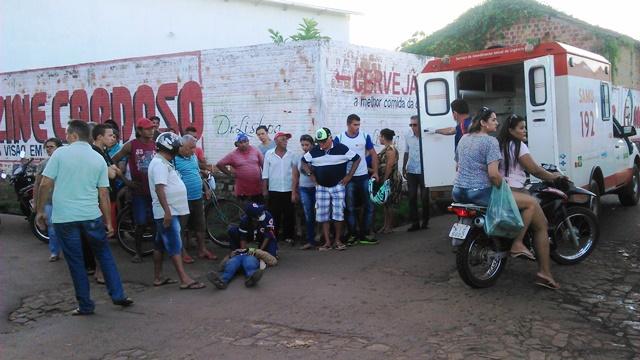 Filha da Presidente do Sindicato Rural de Batalha sofre Acidente em Esperantina