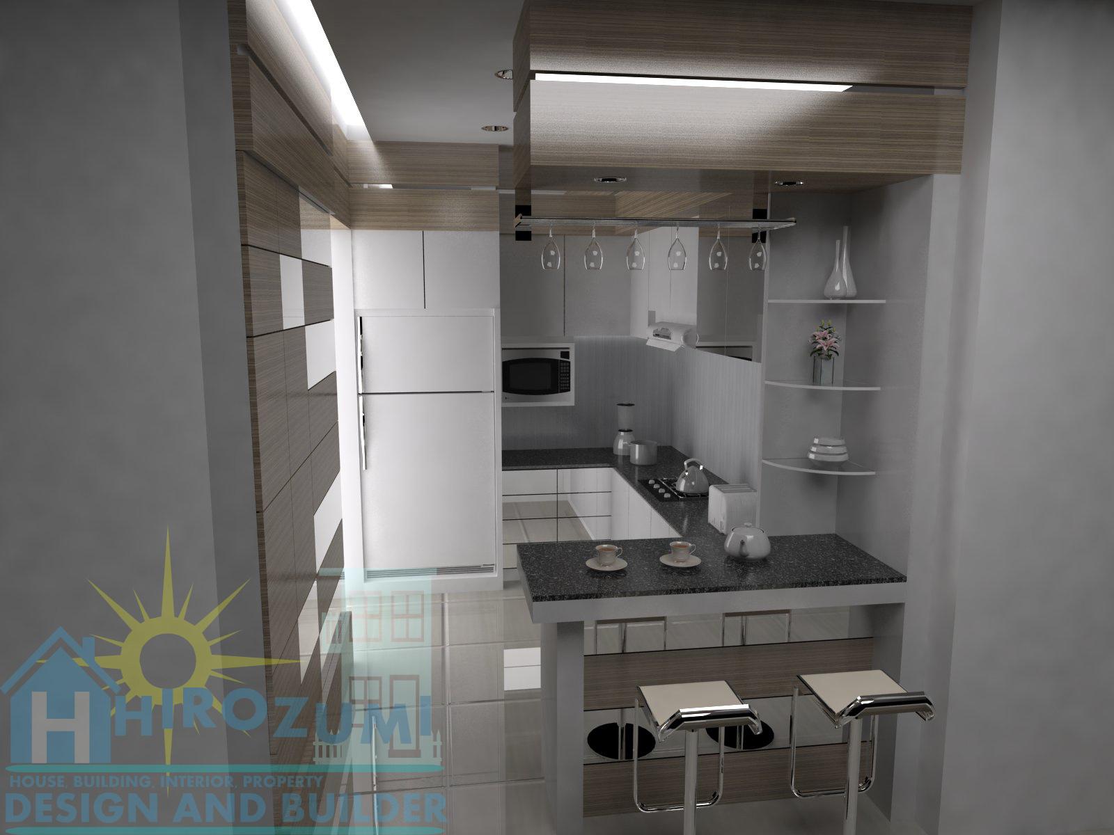 desain kitchen set - rancamaya - bogor jawa barat ~ jasa desain