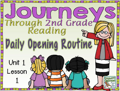 Journeys 2nd Grade Daily Opening Routine