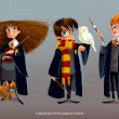 Hermione, Harry and Ron :)
