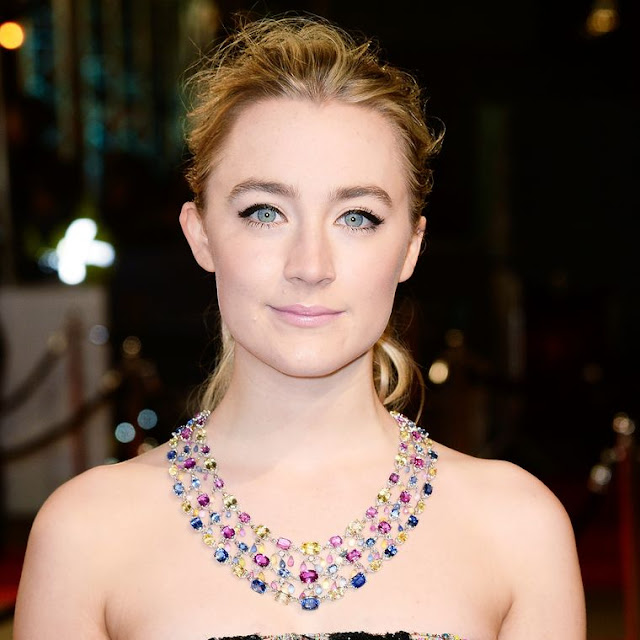 Chopard, BAFTA Awards 2016 , coloured sapphires, jewellery, jewelry,