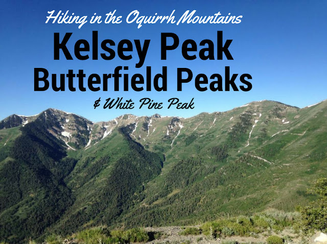 Hiking to Butterfield Peaks, White Pine Peak, & Kelsey Peak