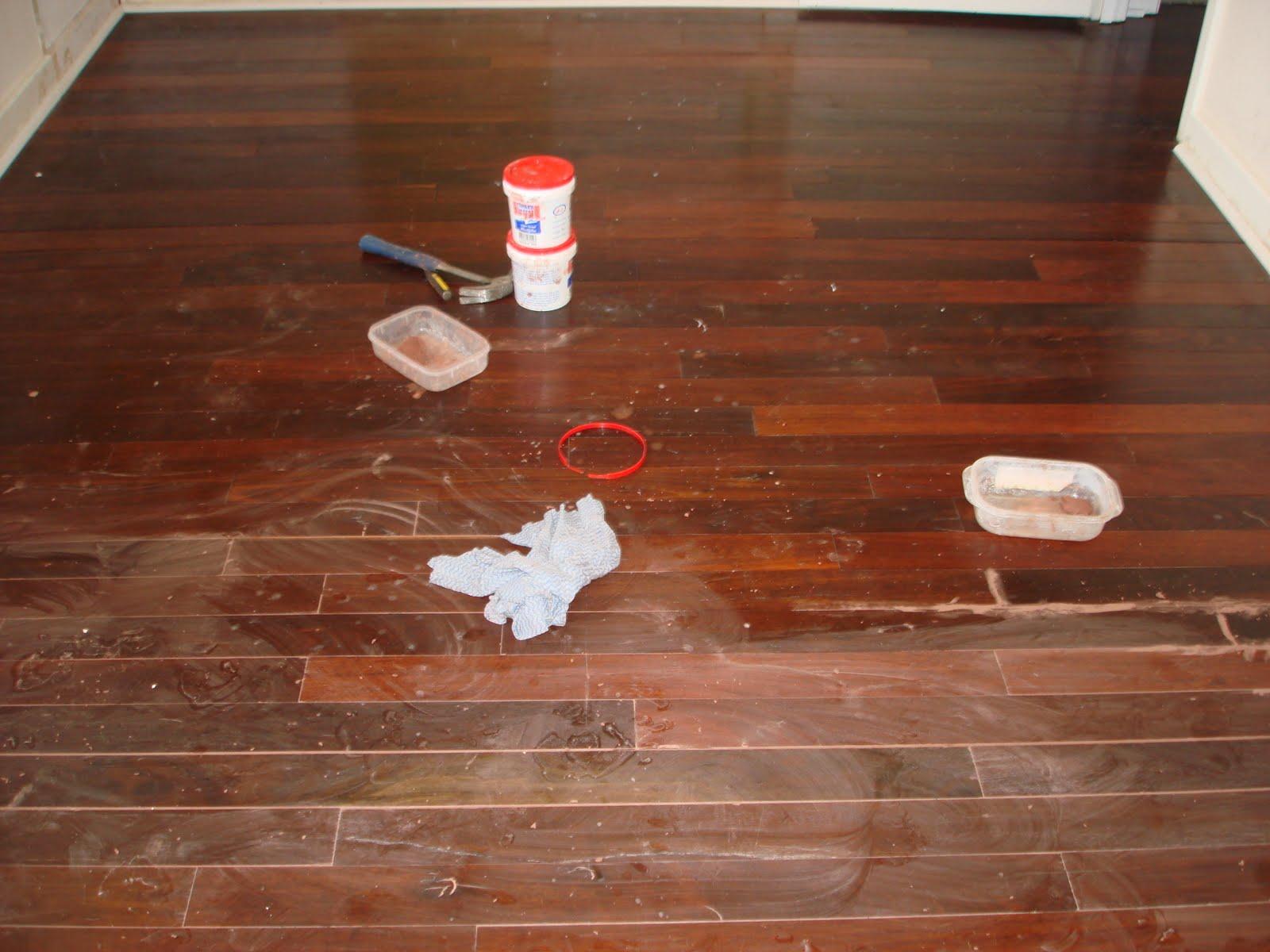 Jarrah Jungle: DIY: How To Restore Jarrah Floorboards