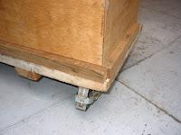 枠木の補修