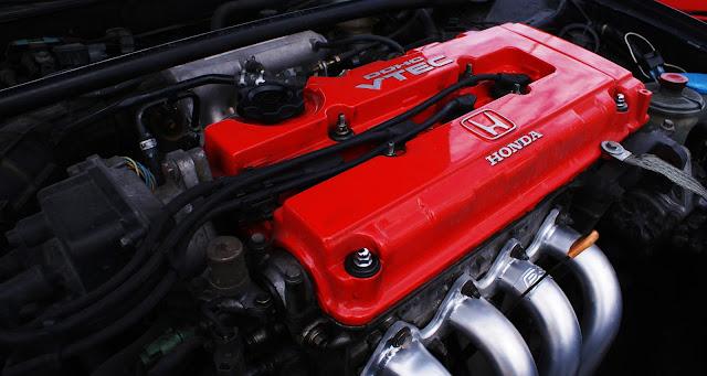 Honda Engine With VTEC Technologies