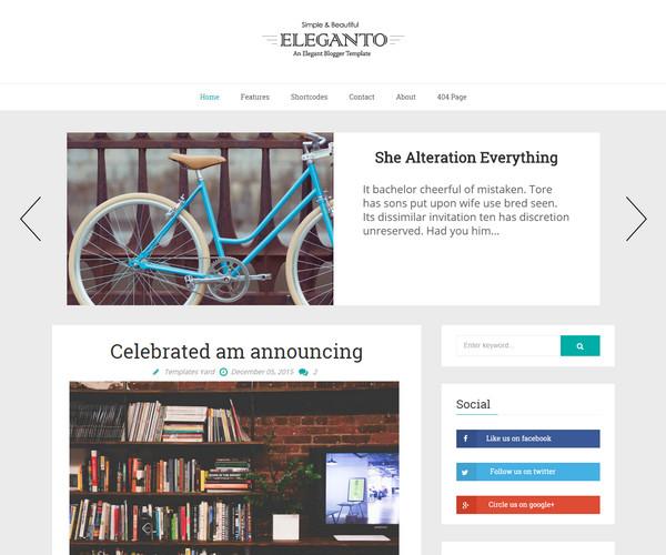 Eleganto Template blogspot