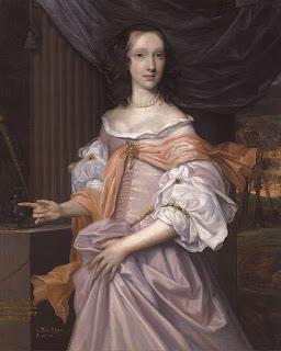 John Michael Wright - Catherine Dormer, Daughter of Montagu Bertie, 2nd Earl of Lindsey