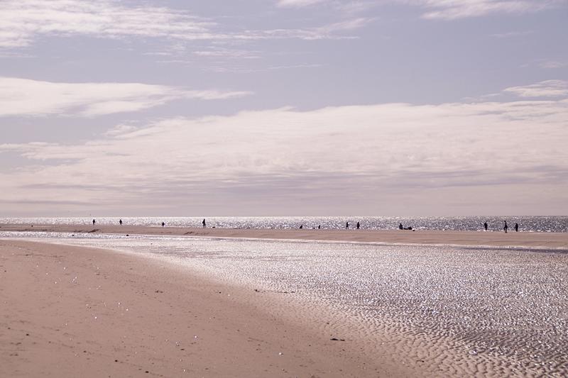 Strand Norddorf, Amrum, im Sommer